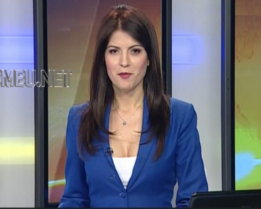 Geanina Lungu poze foto video prezentatoare TV jurnal de stiri Romania TV RTV