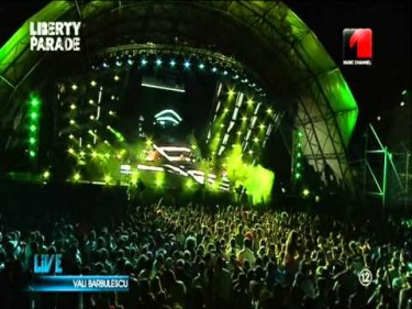 LIBERTY PARADE FULL concert integral 28.07.2012 peste 8 ore Music Channel Ro 480p video