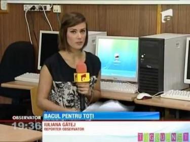 Iuliana Gatej prezentatoare TV  reporter poze foto video pareri opinii